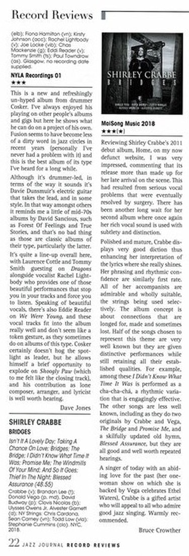 Jazz Record Review